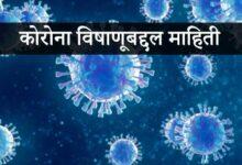 Photo of कोरोना विषाणूबद्दल माहिती – Coronavirus Mahiti