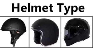 हेल्मेट चे कोणते प्रकार