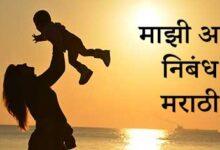 Photo of माझी आई निबंध मराठी – Mazhi Aai Marathi Nibandh